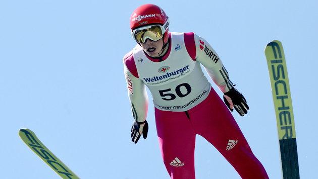Frenzel siegt im Sommer-GP, Mario Seidl Vierter (Bild: APA/EPA/JAN WOITAS)