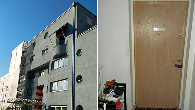 In der Wohnung im Innsbrucker Stadtteil Reichenau wurde die Leiche der 30-Jährigen gefunden. (Bild: APA/ZEITUNGSFOTO.AT)