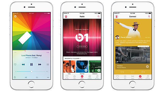 Apple hat halb so viele Streaming-User wie Spotify (Bild: Apple)