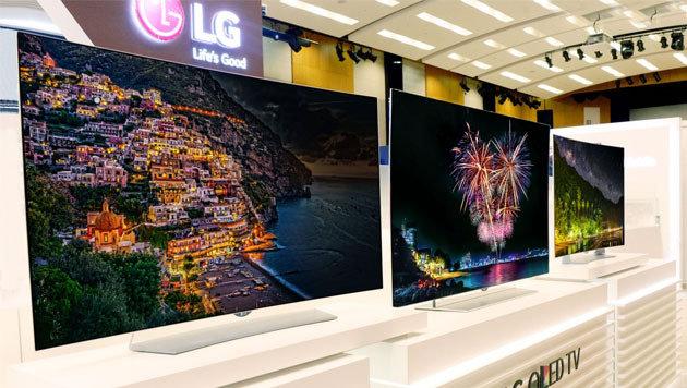 Dünn & scharf: LG bringt neue 4K-OLED-TVs zur IFA (Bild: LG)