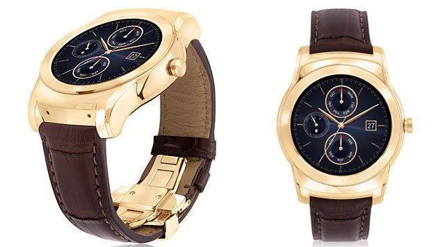 LG kündigt Luxus-Variante seiner Smartwatch an (Bild: LG)