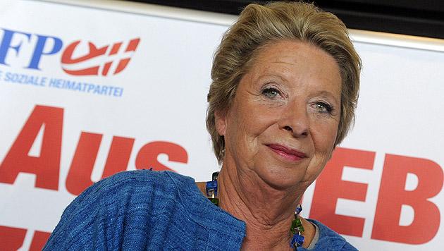 Wien-Wahl: Stenzel tritt für Straches FPÖ an (Bild: APA/Herbert Pfarrhofer)