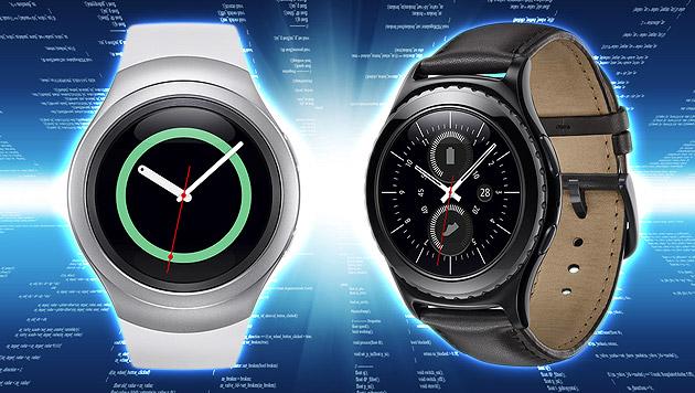 Gear S2: Samsung kündigt neue runde Smartwatch an (Bild: Samsung, thinkstockphotos.de)