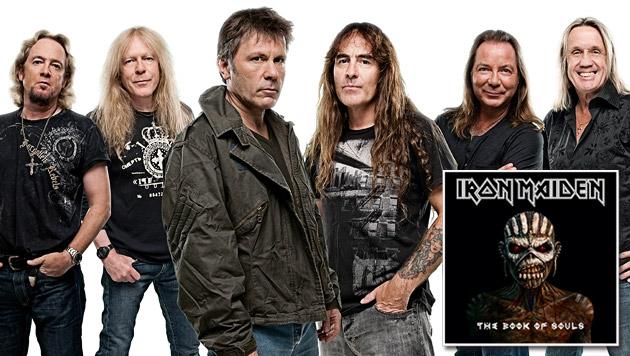 """Iron Maiden: """"Wir sind ziemlich egoistisch"""" (Bild: Warner Music)"""