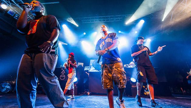 Jurassic 5: High-Class-Hip-Hop in der Arena (Bild: Andreas Graf)