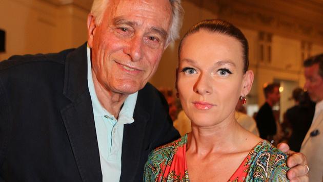 Klaus Wildbolz mit seiner verstorbenen Frau Barbara (Bild: Kristian Bissuti)