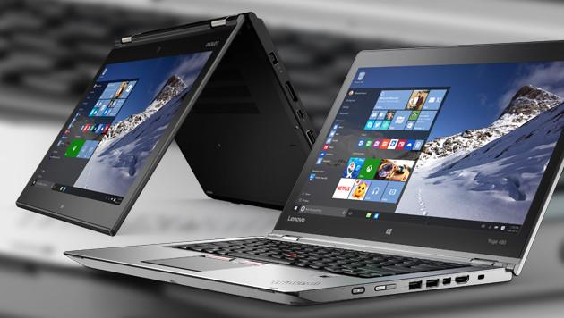 Lenovo stellt Thinkpad Yoga 260 und 460 vor (Bild: Lenovo)