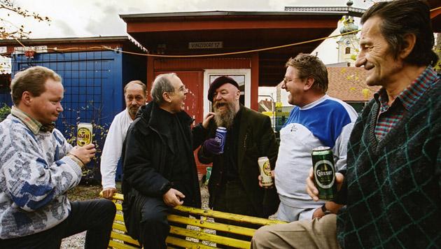 Das VinziDorf gibt Obdachlosen ein Zuhause. Alkohol ist erlaubt, das gab's vor dem Projekt nirgends. (Bild: VinziWerke)