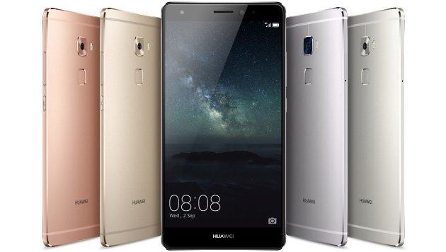 Huawei enthüllt neues Phablet-Flaggschiff Mate S (Bild: Huawei)