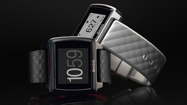 Zeitanzeige bei Smartwatches nur mehr Nebensache (Bild: Intel)