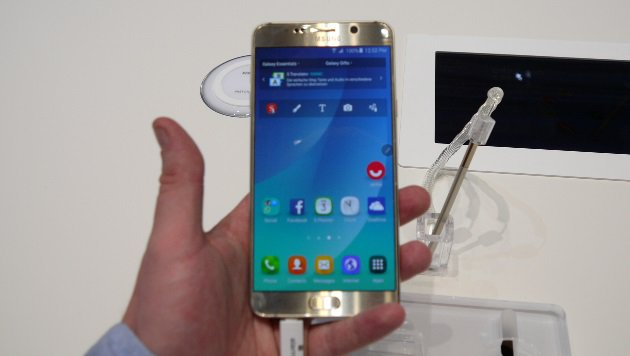 Note 5: Samsungs verbotene Frucht ausprobiert (Bild: Dominik Erlinger)