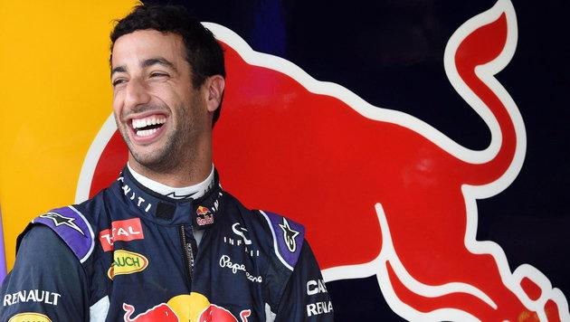 Daniel Ricciardo (Bild: APA/EPA/DANIEL DAL ZENNARO)