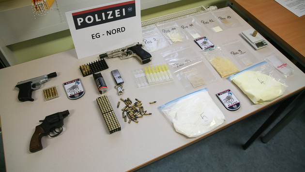 Crystal Meth nach OÖ geschmuggelt: Fünf Festnahmen (Bild: LPD OÖ)