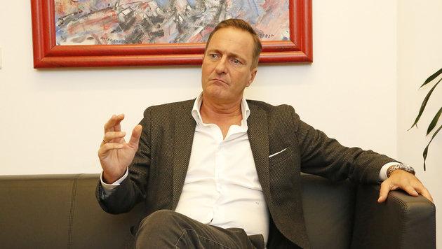 "Wiens ÖVP-Chef Juraczka über den ""Ursula-Coup"" (Bild: Martin Jöchl)"