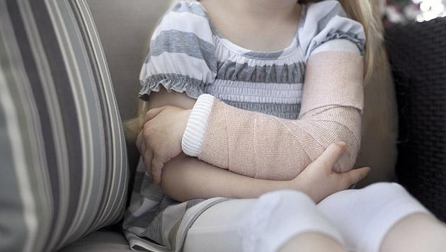 Zahl der verletzten Kinder bei Unfällen gestiegen (Bild: thinkstockphotos.de (Symbolbild))