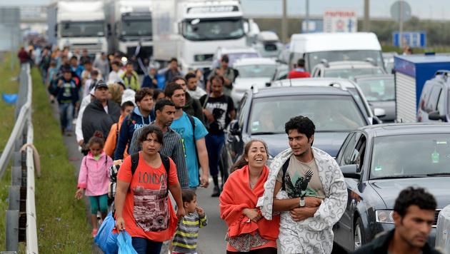 Alle Bilder & Videos zur Nacht der Menschlichkeit (Bild: APA/ROLAND SCHLAGER)