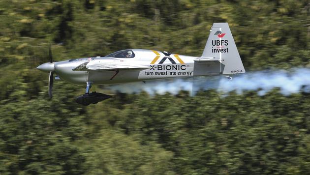Arch enttäuscht bei Air Race: Out in Runde eins (Bild: GEPA)