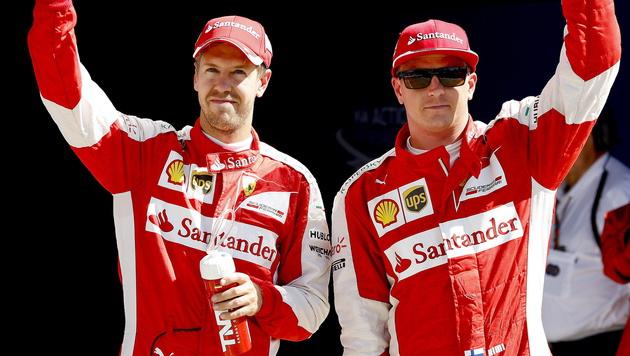 Hamilton darf jubeln! Sieg in Monza bestätigt (Bild: APA/EPA/SRDJAN SUKI)