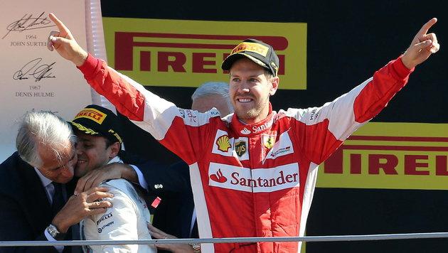 Sebastian Vettel (Bild: APA/EPA/DANIEL DAL ZENNARO)
