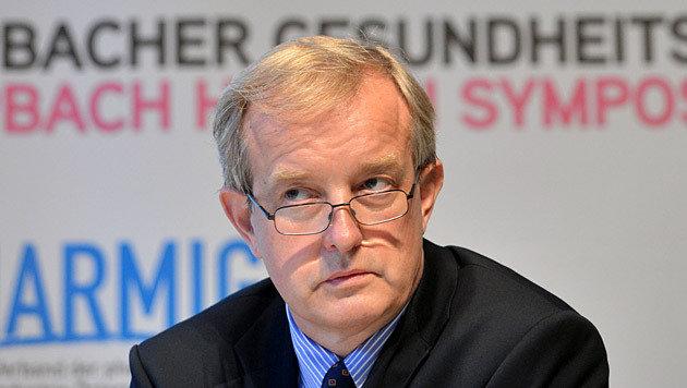 Johannes Steinhart, Vizepräsident der Ärztekammer (Bild: APA/Barbara Gindl)