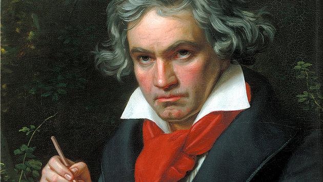 Der taube Ludwig van Beethoven nutzte schon 1798 Vibrationen, um seine Musik zu hören. (Bild: Wikimedia)