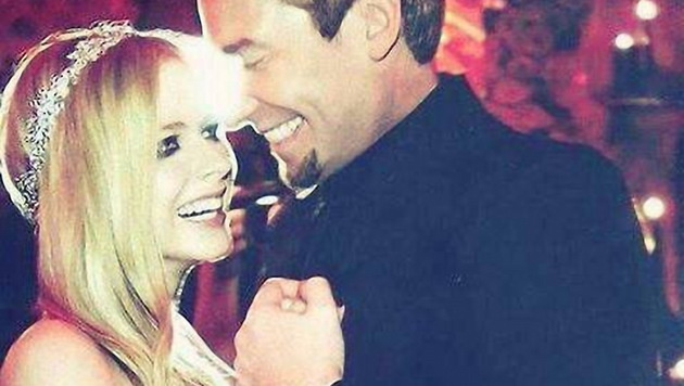 Avril Lavigne und Chad Kroeger (Bild: Viennareport)