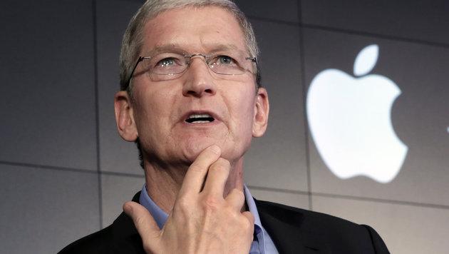 """Cook: iPhone-Entsperrung """"schlecht für die USA"""" (Bild: AP)"""