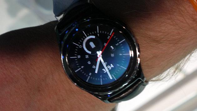 Galaxy Gear S2: Bei Samsung an der Uhr gedreht (Bild: Dominik Erlinger)