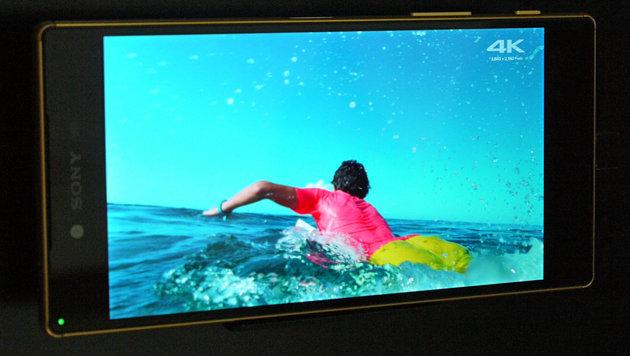 Das Z5 Premium liefert tolle Bilder, die hohe Auflösung ist mit freiem Auge aber kaum zu erkennen. (Bild: Dominik Erlinger)