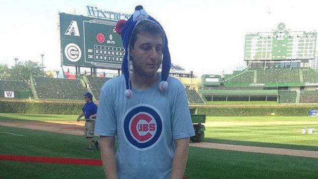 """Bei den erfolglosen Baseballern der """"Chicago Cubs"""". (Bild: Instagram)"""