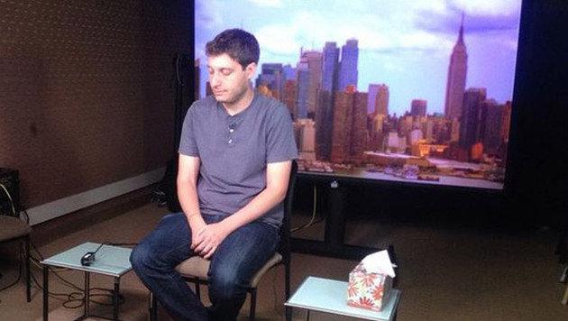 Und jetzt ab zum TV-Interview bei einem lokalen Fernsehsender. (Bild: Instagram)