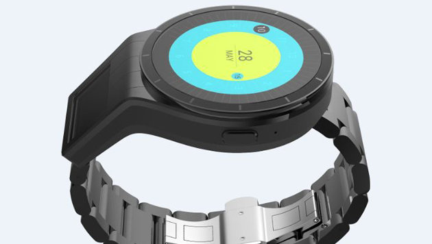Smartwatch-Prototyp mit Beamer-Display angetestet (Bild: Lenovo)