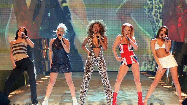 Die Spice Girls (Bild: Fiona Hanson)