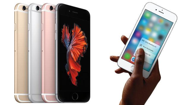 Apples neues iPhone 6S bereits auf Rekordkurs (Bild: Apple)