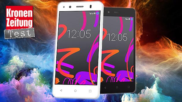 Einsteiger-Androide aus Spanien: BQ Aquaris M4.5 (Bild: BQ, thinkstockphotos.de)