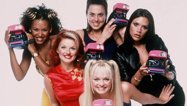 Spice Girls (Bild: POLAROID)