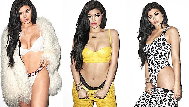 So sexy posiert Kylie Jenner für Terry Richardson (Bild: instagram.com/terryrichardson, kyliejenner, kittengalore)