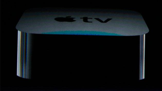 Neues Apple TV beherrscht Games und Spracheingabe (Bild: APA/EPA/MONICA DAVEY)