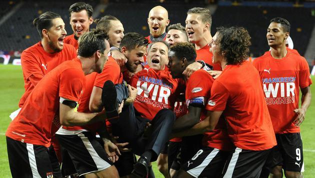 ÖFB-Team in FIFA-Weltrangliste weiter auf Rang elf (Bild: APA/ROBERT JAEGER)