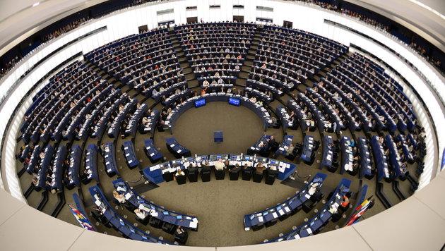 Attentäter von Brüssel putzte im EU-Parlament (Bild: APA/EPA/PATRICK SEEGER)