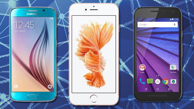 Apple gegen alle: Neue iPhones im Hardware-Check (Bild: Apple, Samsung, Motorola)