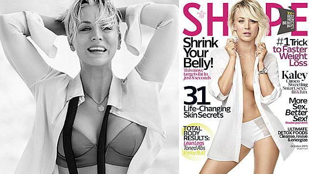 """Kaley Cuoco zeigt sich so sexy und fit im neuen """"Shape"""". (Bild: facebook.com/SHAPEmagazine)"""