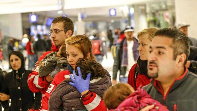 Flüchtlingswelle: ÖBB stoppen Ungarn-Verbindung (Bild: MARKUS TSCHEPP)