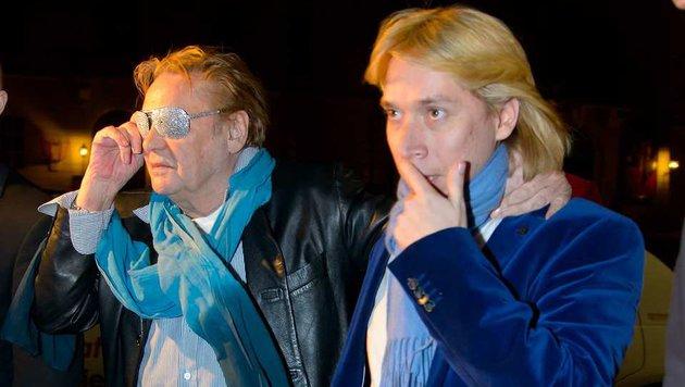 Helmut Werner und sein Schützling Helmut Berger (Bild: Viennareport)