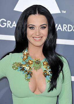 Perry liebt Kleider, die ihre Reize offenbaren. (Bild: Viennareport)