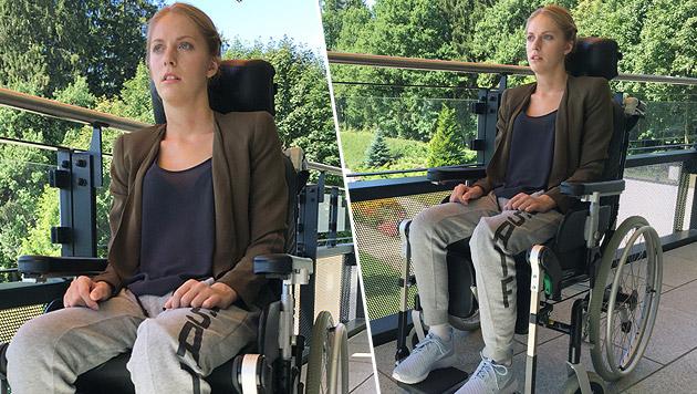 Kira Grünberg zeigt Fortschritte in der Reha (Bild: Tom Sports Consulting)