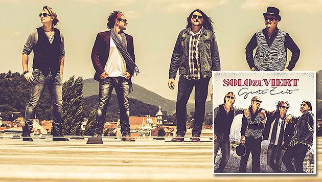 SOLO zu VIERT: Aufstrebende Austropop-Liedermacher (Bild: Marija Kanizaj, Sony Music)