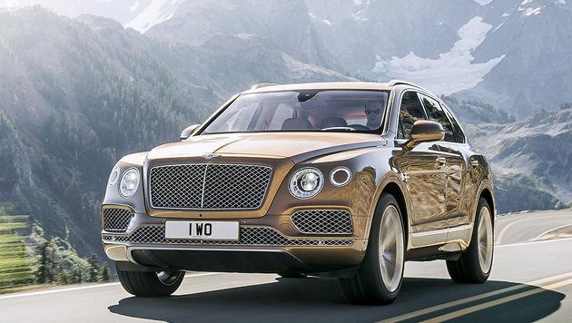 """""""Sucht mit City4U das geilste Auto der Welt (Bild: Bentley)"""""""