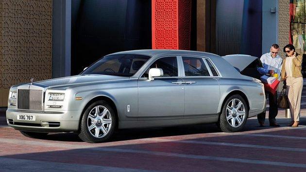 """""""Sucht mit City4U das geilste Auto der Welt (Bild: Rolls Royce)"""""""