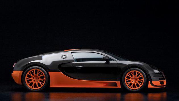 """""""Sucht mit City4U das geilste Auto der Welt (Bild: Bugatti)"""""""